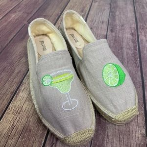 SOLUDOS x Lucy Mail Margarita & Lime Espadrilles